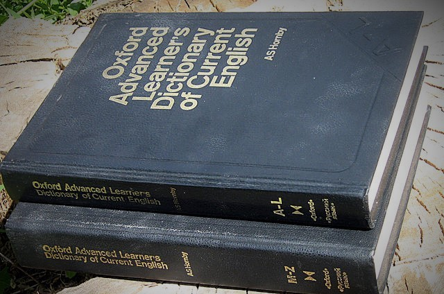 Oxford Advanced learners dictionary   WikiCommons
