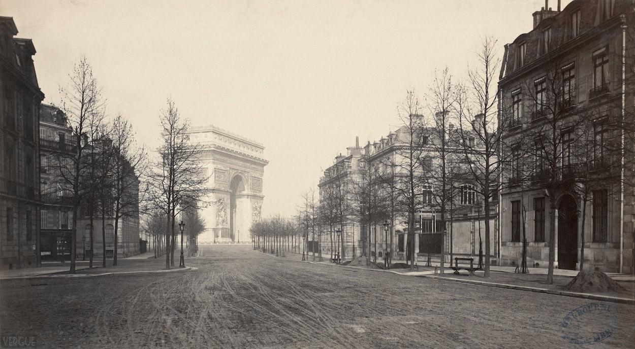 Haussmann's Paris, 1877 | © Charles Marville