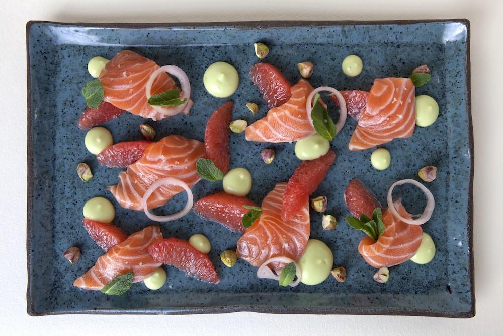 Salmon Dish   Courtesy of Yael Rivnay