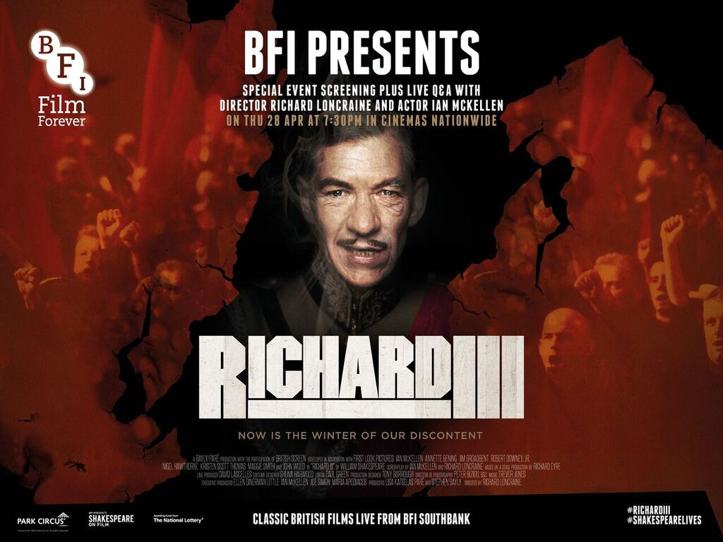 Richard III Poster | Courtesy of Park Circus/Richard III Ltd