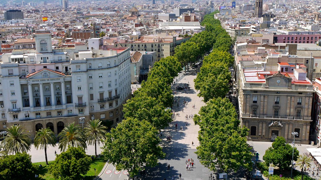 The History Of La Rambla Of Barcelona In 1 Minute
