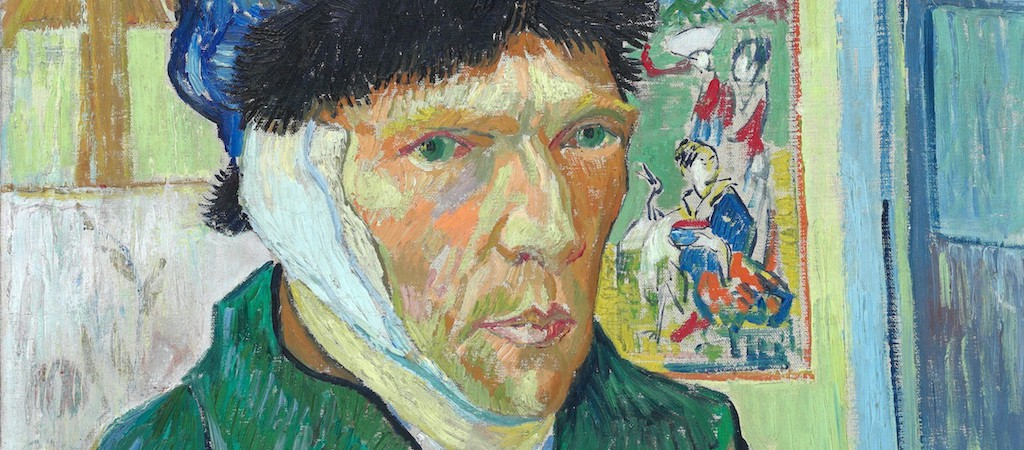 Vincent Van Gogh, Self-portrait with bandaged ear, 1889 | © Courtauld Institute of Art/WikiCommons