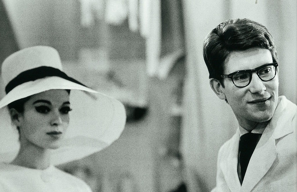 Yves Saint Laurent in 1962 © Victor Soto/Flickr