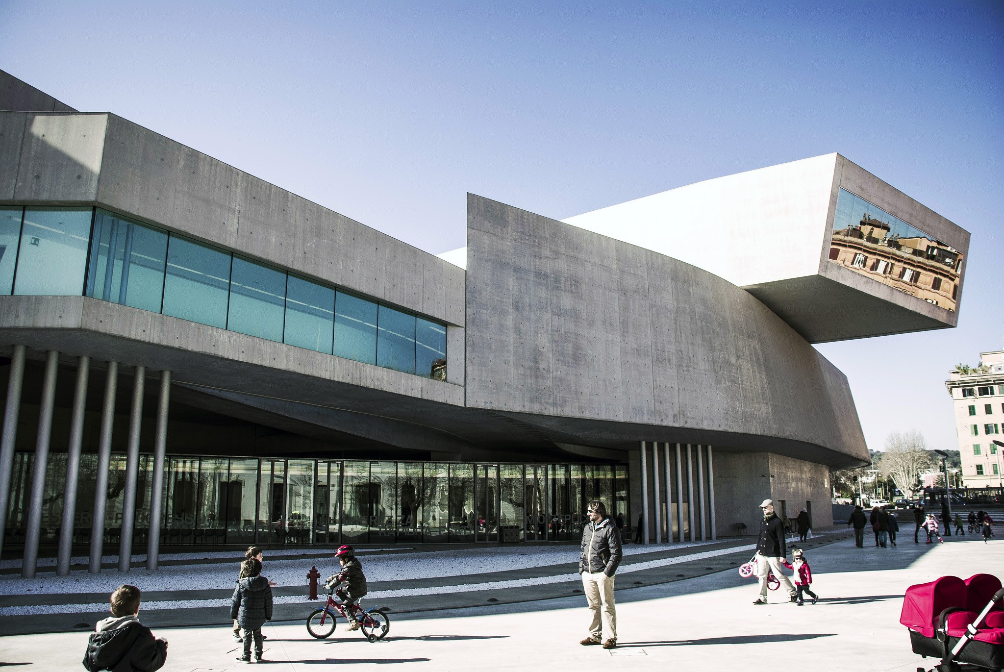 MAXXI | © Flickr/chrisobayda