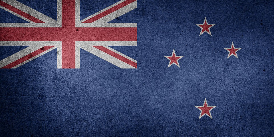 The current New Zealand flag | ©WikiCommons