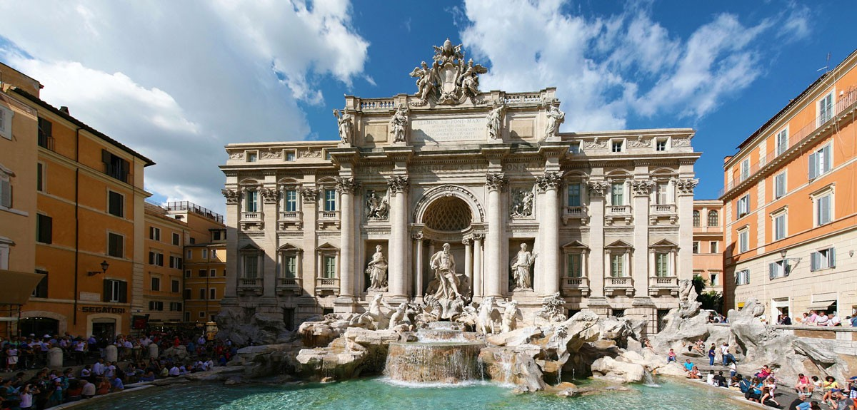 Trevi Fountain | © Flickr-Vašek-Vinklát