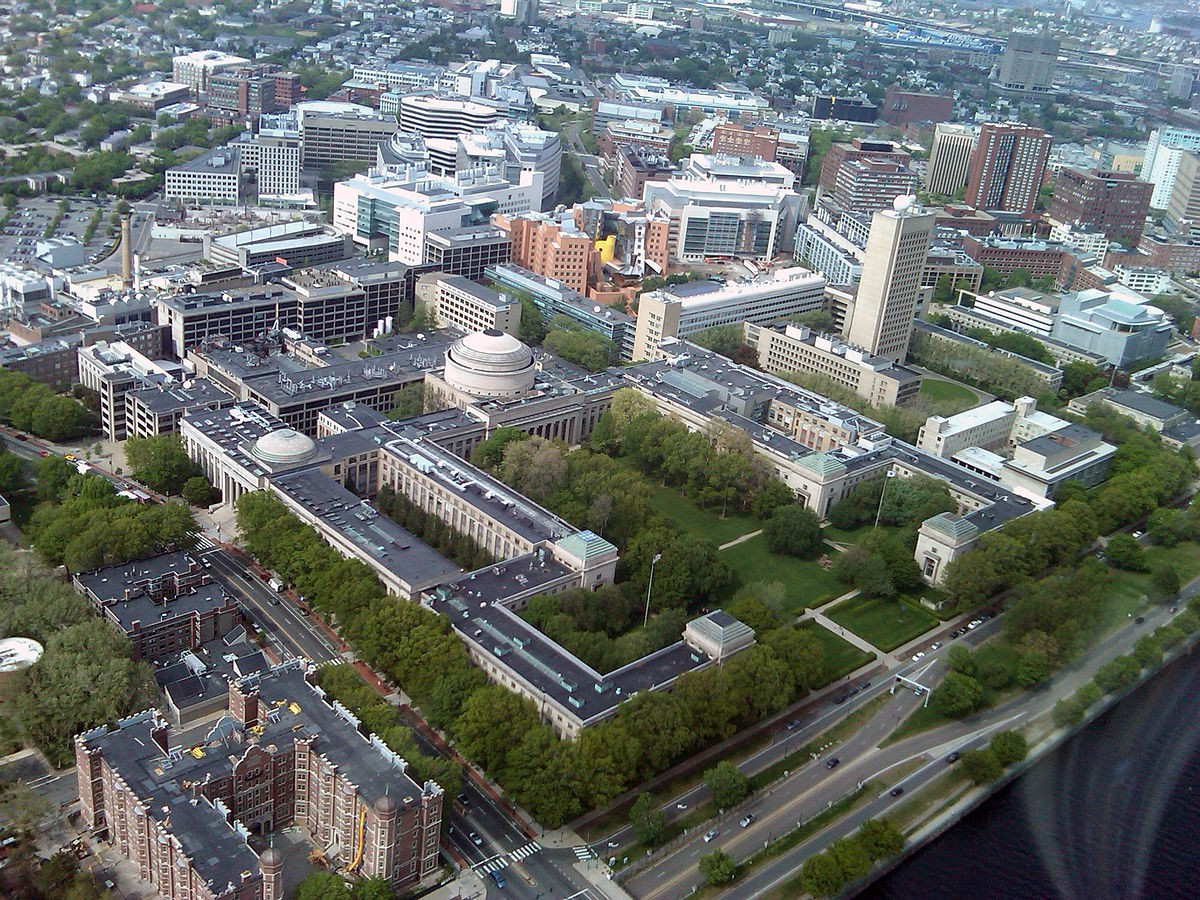 Aerial View of MIT | © DrKenneth/WikiCommons