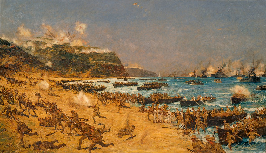 Anzac's landing at Gallipoli, World War I | © Archives New Zealand / Flickr