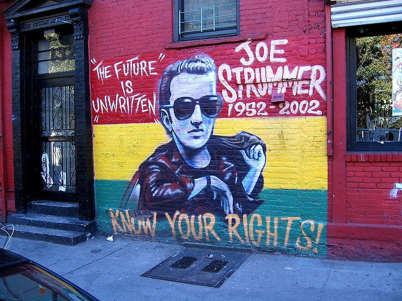 Joe Strummer Mural | © Wikipedia Commons