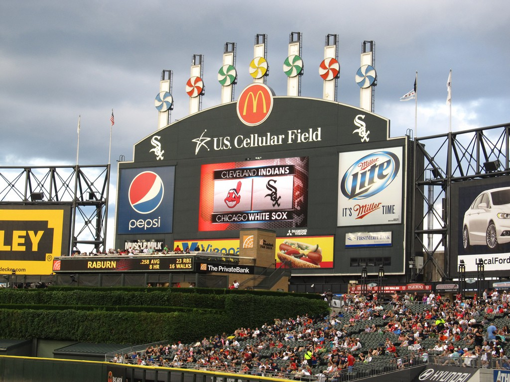 White Sox stadium | ©Ken Lund/Flickr