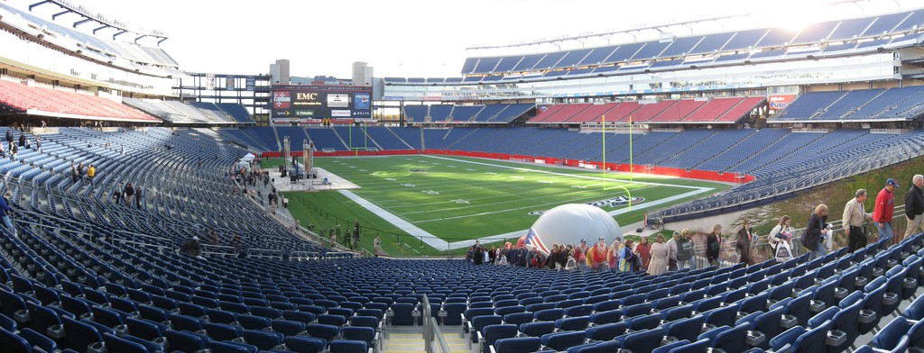 Gillette Stadium| © Alex1961/Flickr