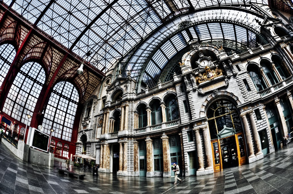 Antwerp Central Station | © Dave Van Laere/Courtesy of Visit Antwerp