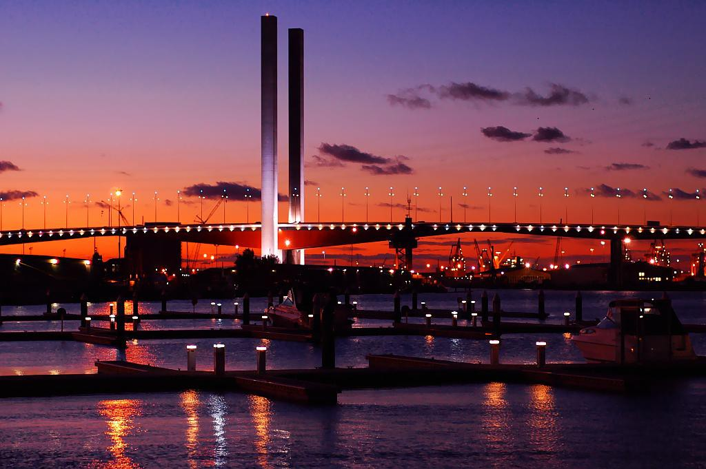 Bolte Bridge, Melbourne | © Jes/WikiCommons