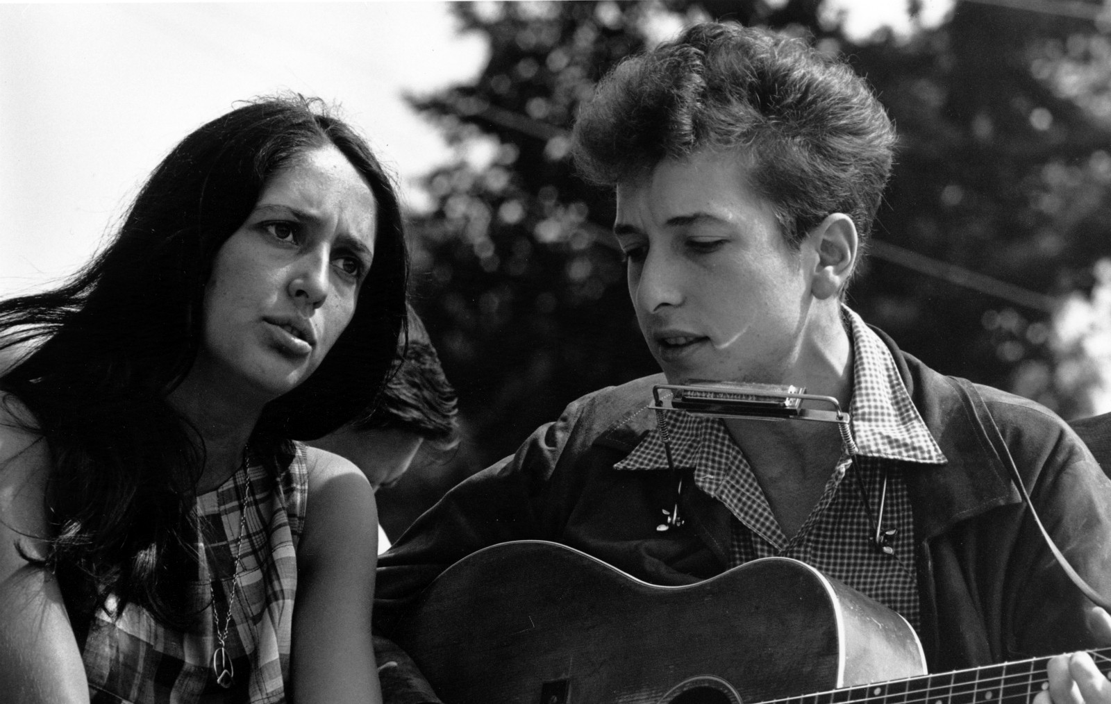 5f87c77e43 Bob Dylan and Joan Baez during Civil Rights March on Washington D.C.