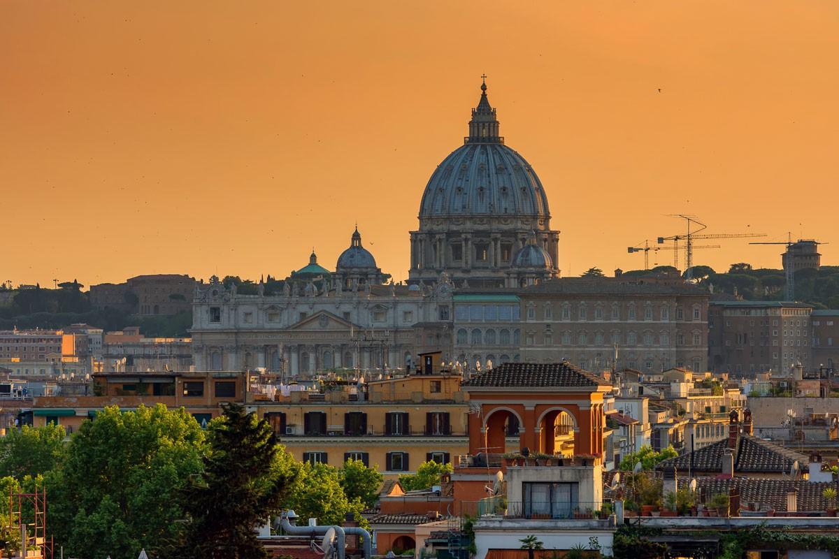 Sunset in Rome | © Flickr/Stefano Lovato