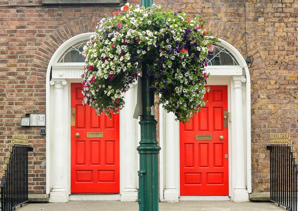 Typical Dublin Doors ©Ita Pritsch / Shutterstock