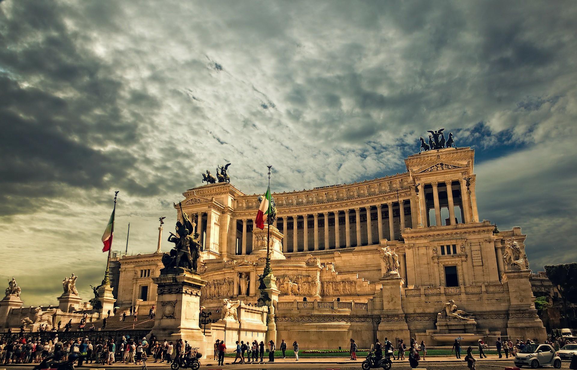 Monumento Nazionale in Rome |© skylark/Pixabay