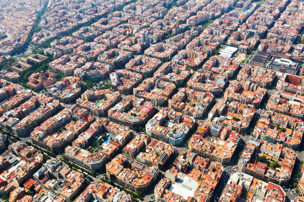 Eixample district of Barcelona | © Iakov Filimonov/Shutterstock