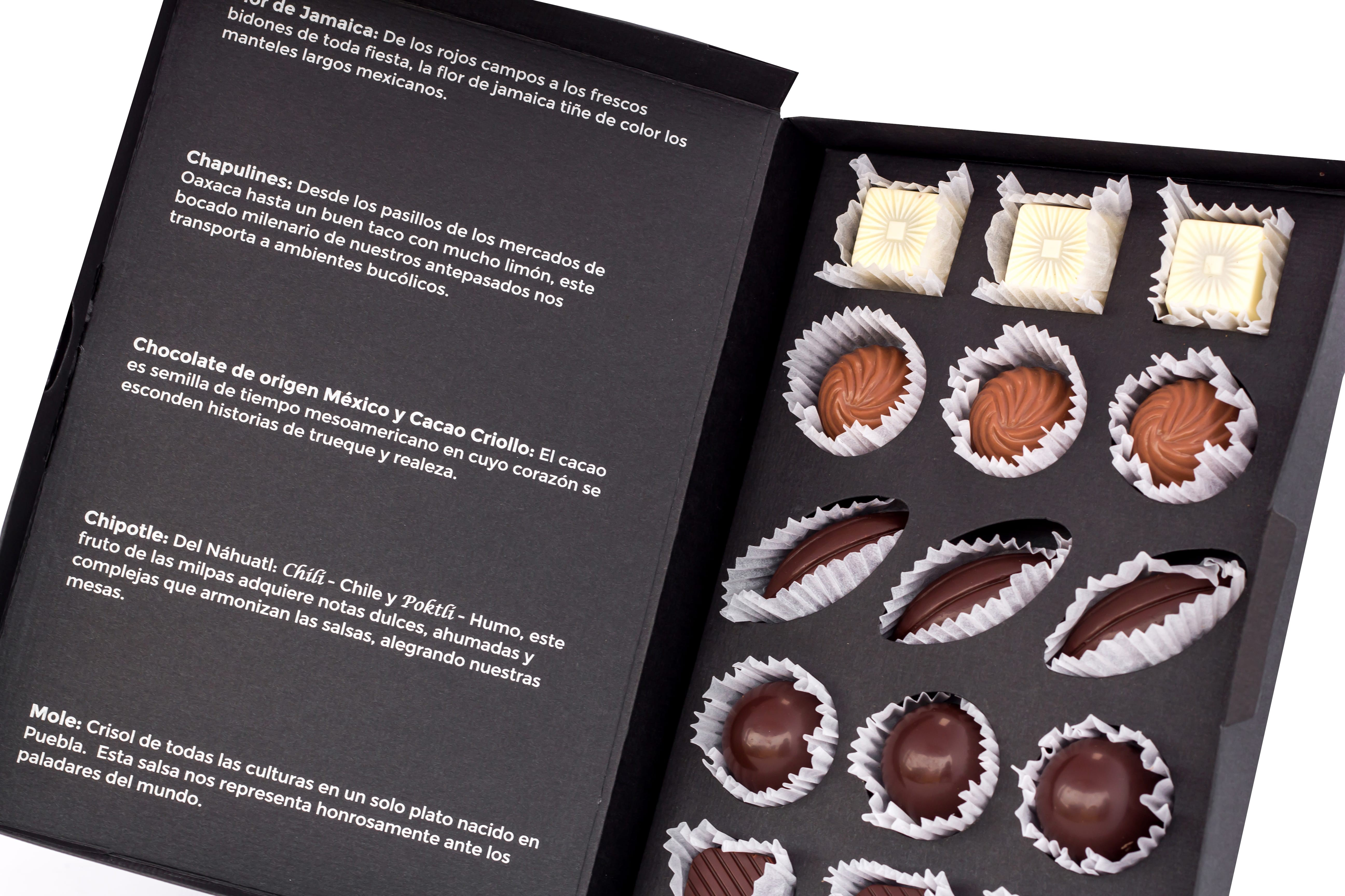 Beautifully presented chocolates   Courtesy of Le Caméléon
