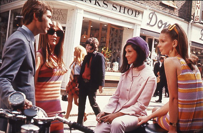 Londons Carnaby Street, 1969 © Wiki / commons