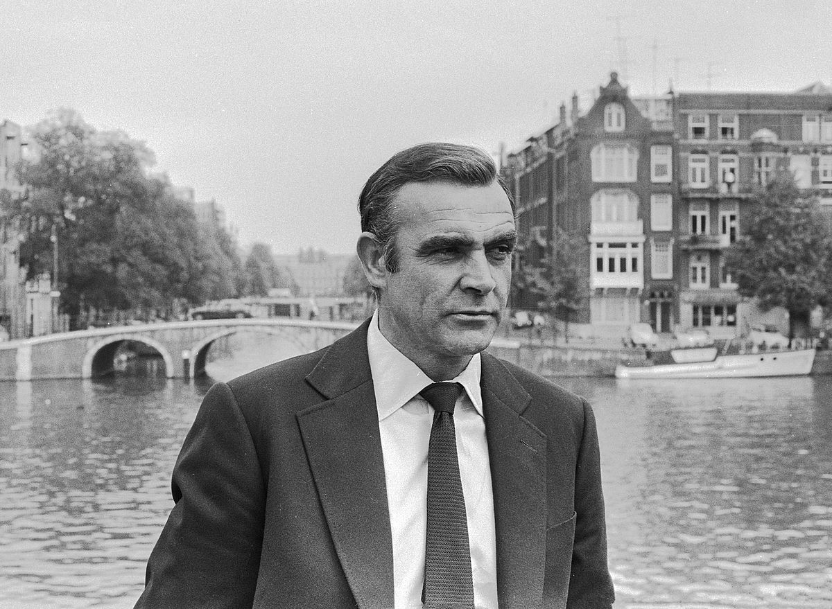 Sean Connery on set in 1971| © Dutch National Archives/WikiCommons