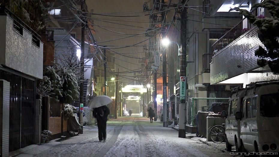 Snowing in Tokyo | © Danny Choo/Flickr