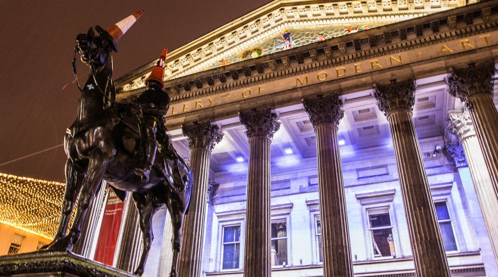 How Glasgow S Duke Of Wellington Statue Got Its Traffic Cone