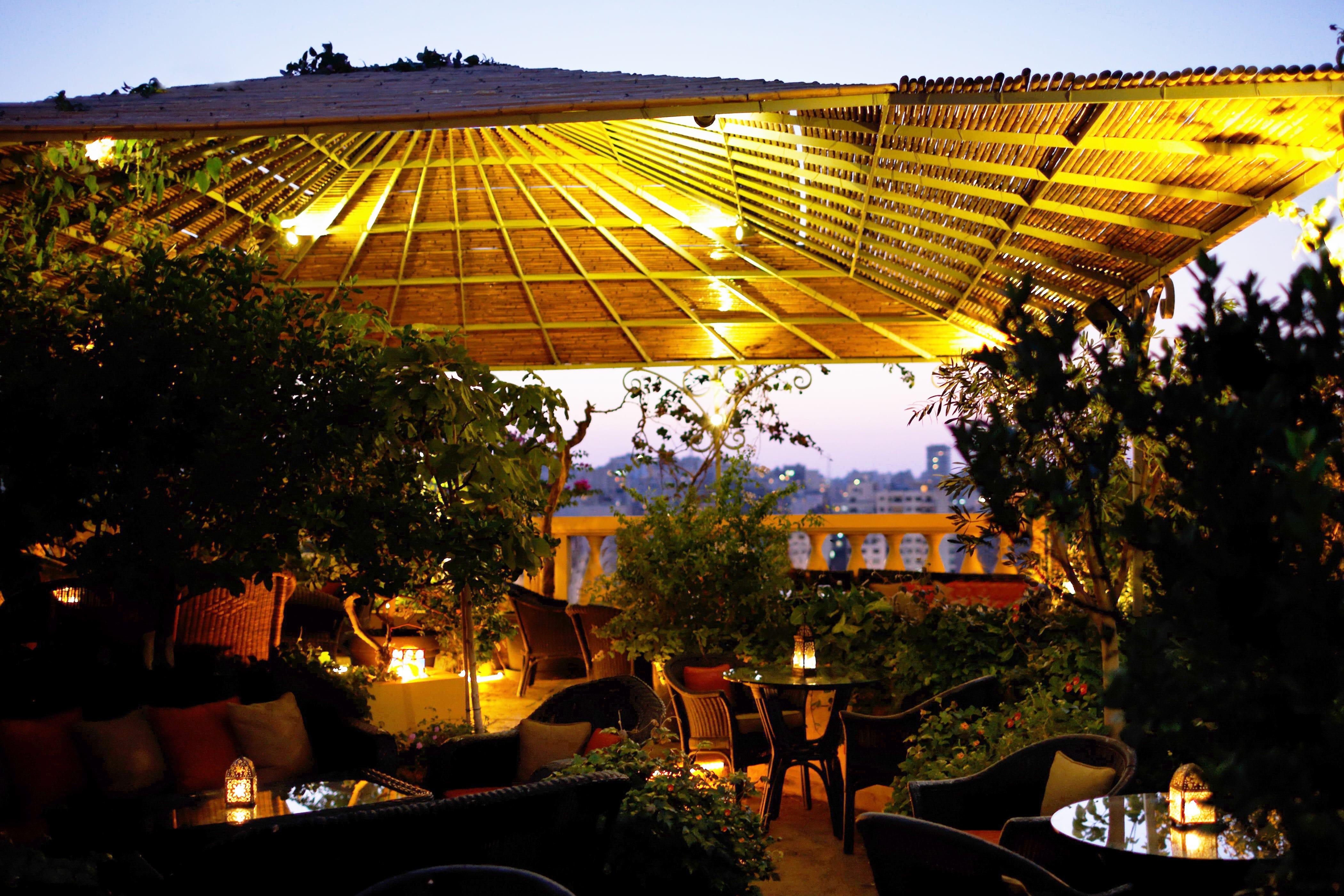 Night Terrace, Albergo Hotel   Courtesy of Albergo Hotel