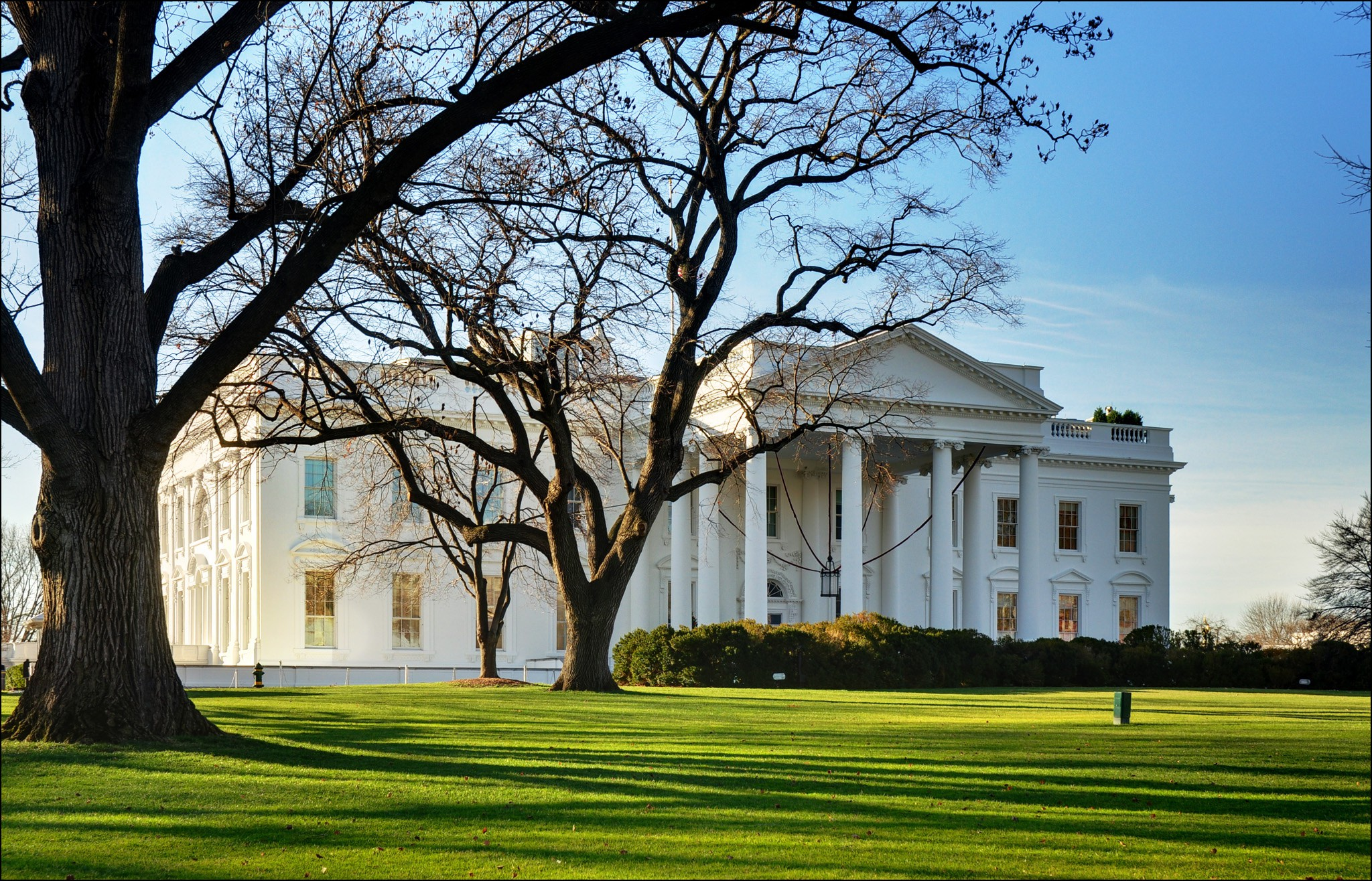 The White House | © George Rex / Flickr