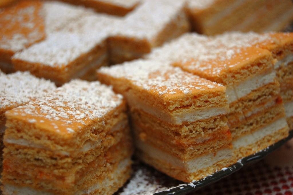 "<a href=""https://www.flickr.com/photos/octopushat/2163003903/sizes/l""> Hungarian Honey Cake | ©  John Verive / Flickr</a>"