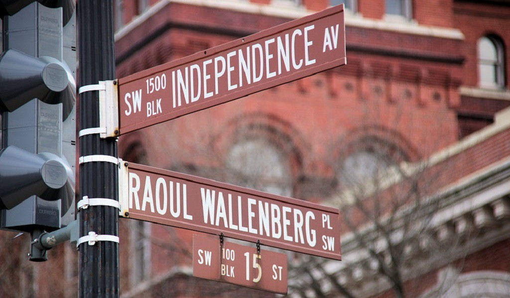 "<a href=""https://www.flickr.com/photos/timevanson/6238491397/sizes/l"">Raoul Wallenberg Street  