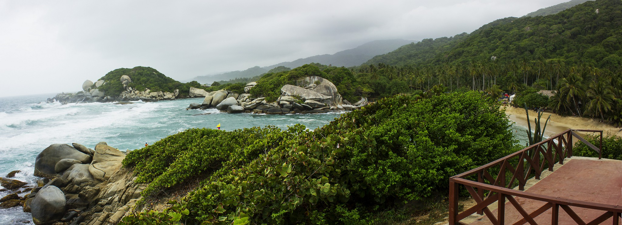 Colombia's Tayrona National Park | © Carlos Andres Reyes/Flickr