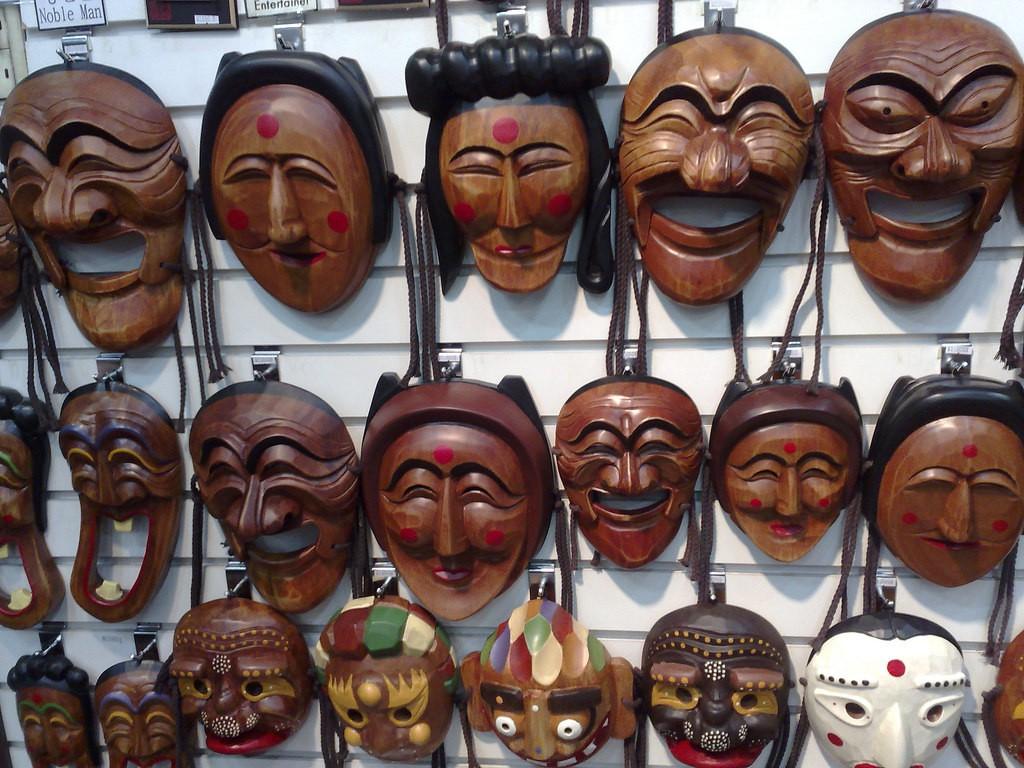 Korean Masks  © Tim Walker / Flickr