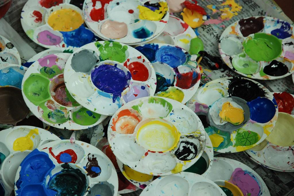 Paint Pots | © Windslash / Flickr