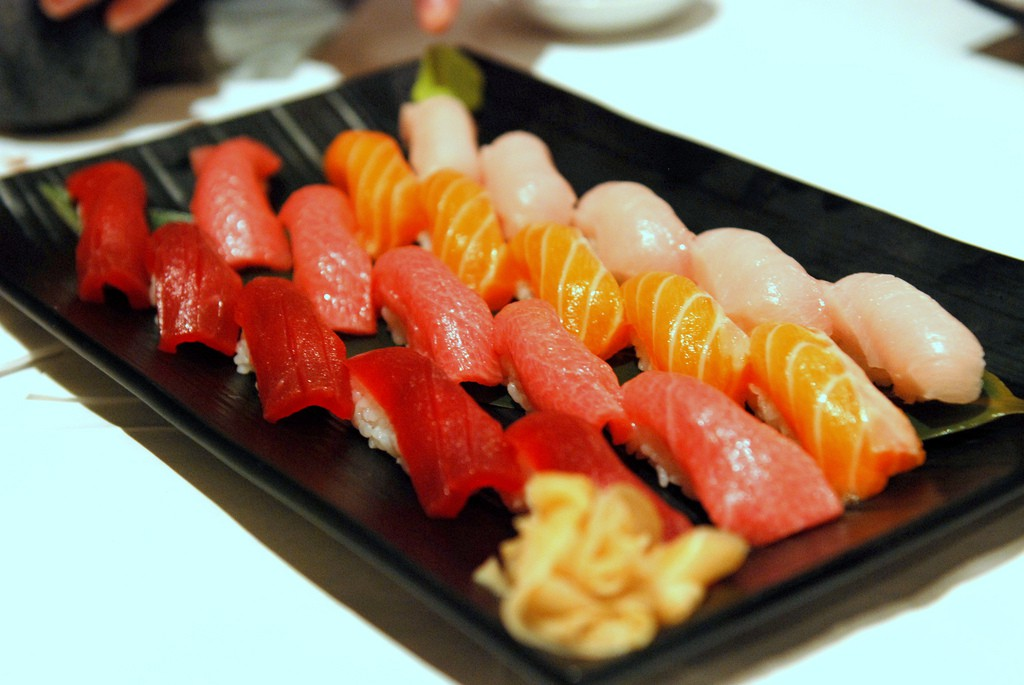 Sushi assortment | © TummyRumble / Flickr