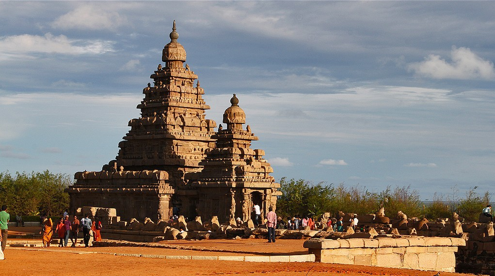 Shore Temple, Mahabalipuram |  ©  J'ram DJ / Flickr-cropped