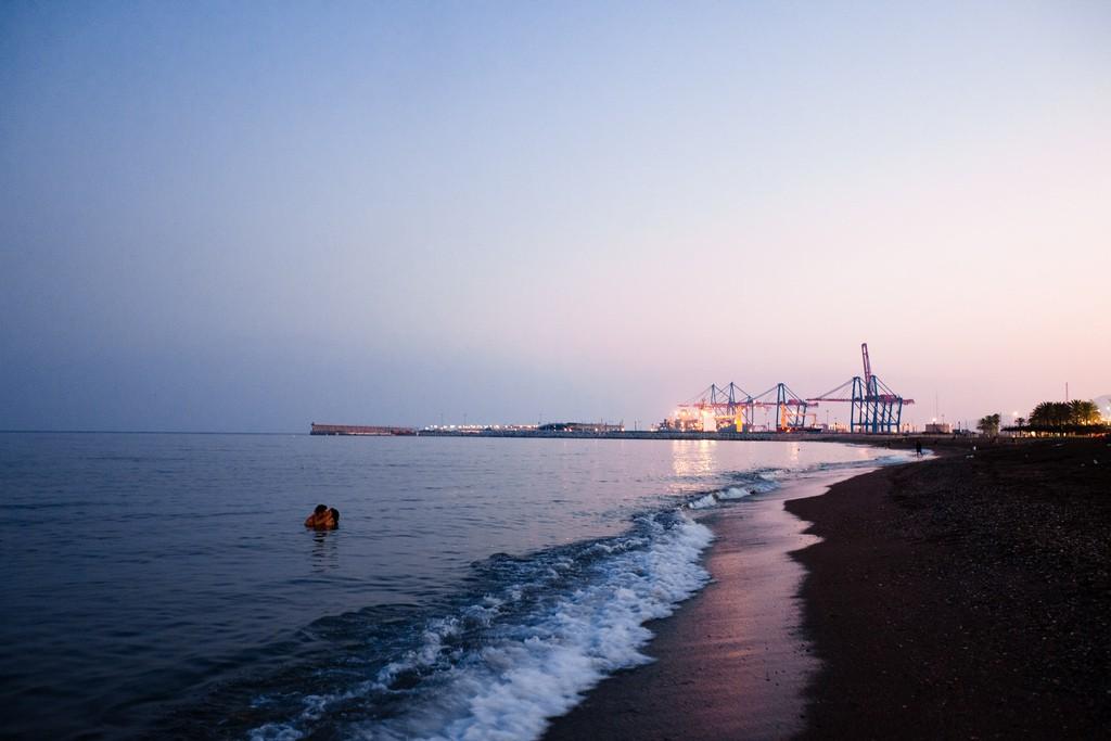 Malaga beach   © Matt Bidulph / Flickr