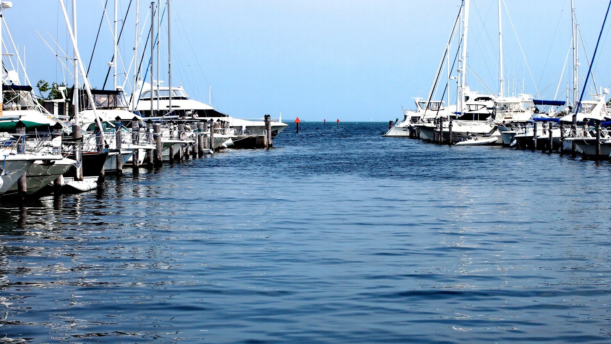 Coconut Grove Harbour | ©karmatosed / Flickr