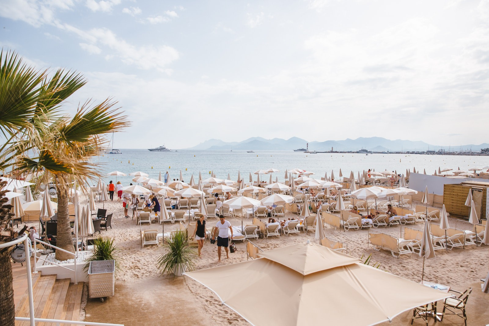 Carlton Intercontinental Hotel Beach, Cannes, France