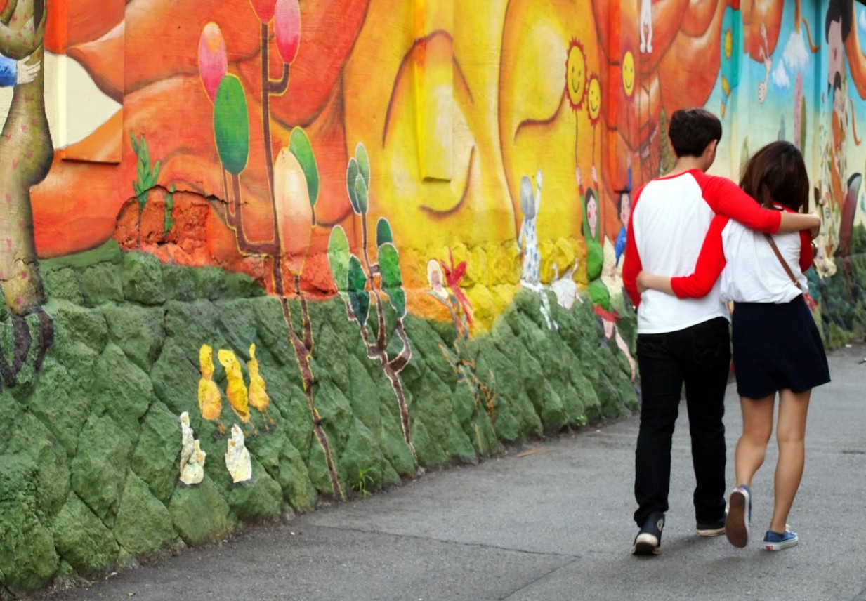 Colorful street art brightens up Seoul's residential neighborhoods | © Mimsie Ladner