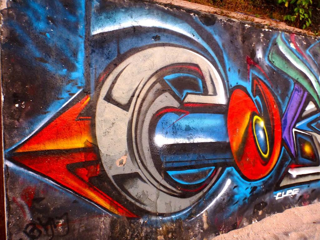 Graffiti art in Bali |© Thomas Timien/Flickr