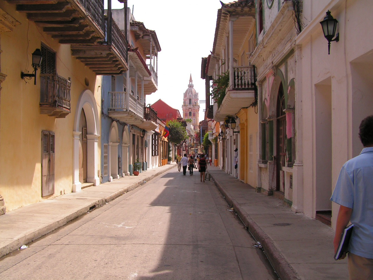Colonial streets of Cartagena | © OAGREDOP / Flickr