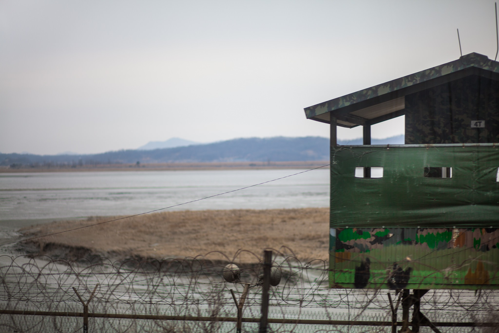 Looking out on to the DMZ   © Konrad Karlsson / Flickr