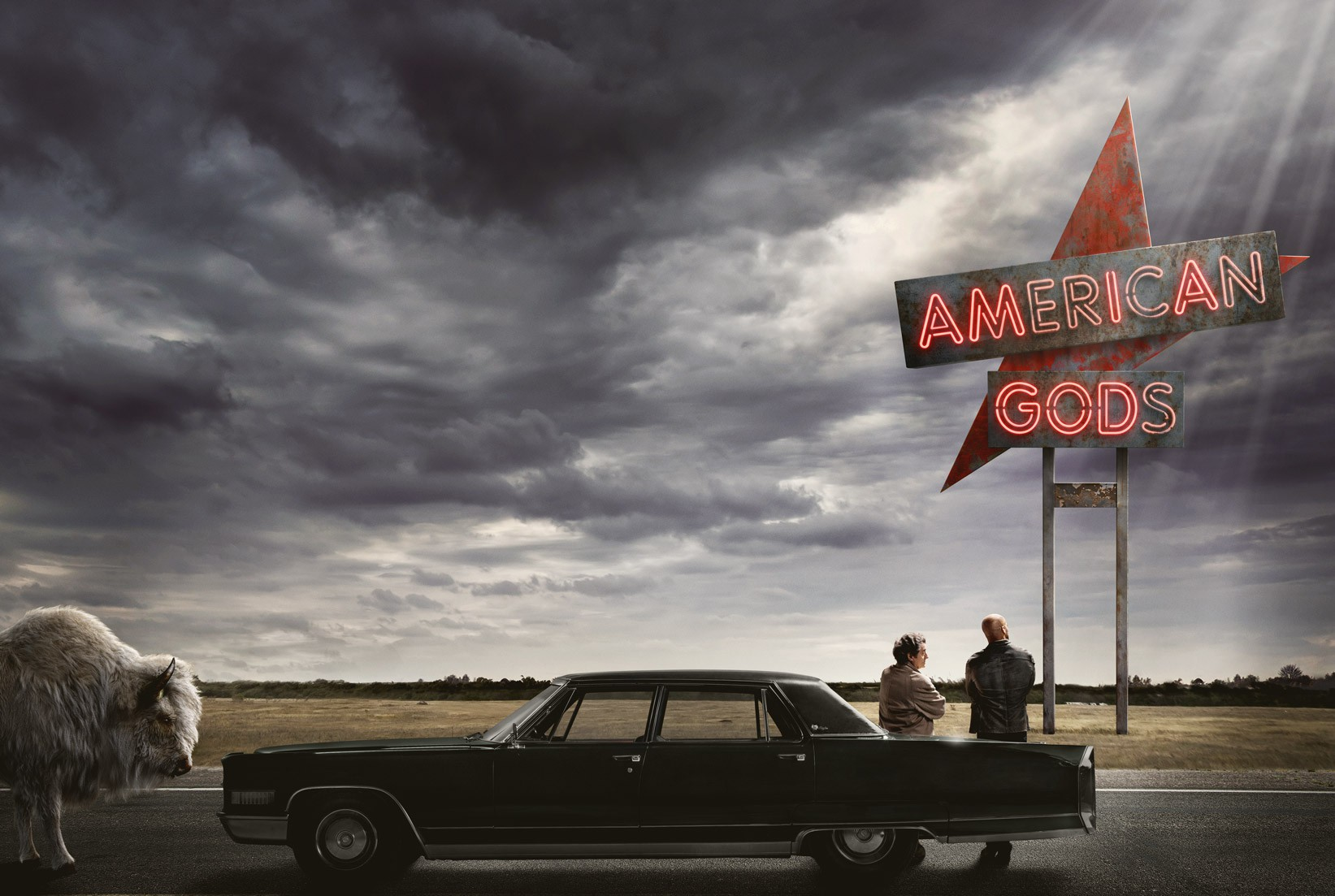 American Gods: Fantasy and Americana, combined | Courtesy of Amazon
