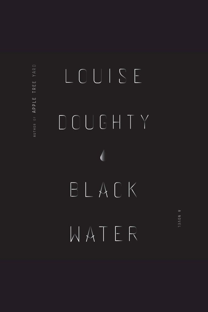 From the cover of Black Water | Courtesy of Farrar, Straus and Giroux