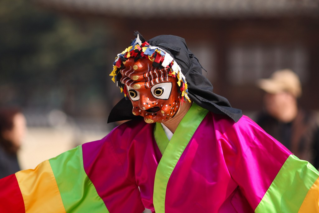 Korean mask drama | © Ralph Honsbeek