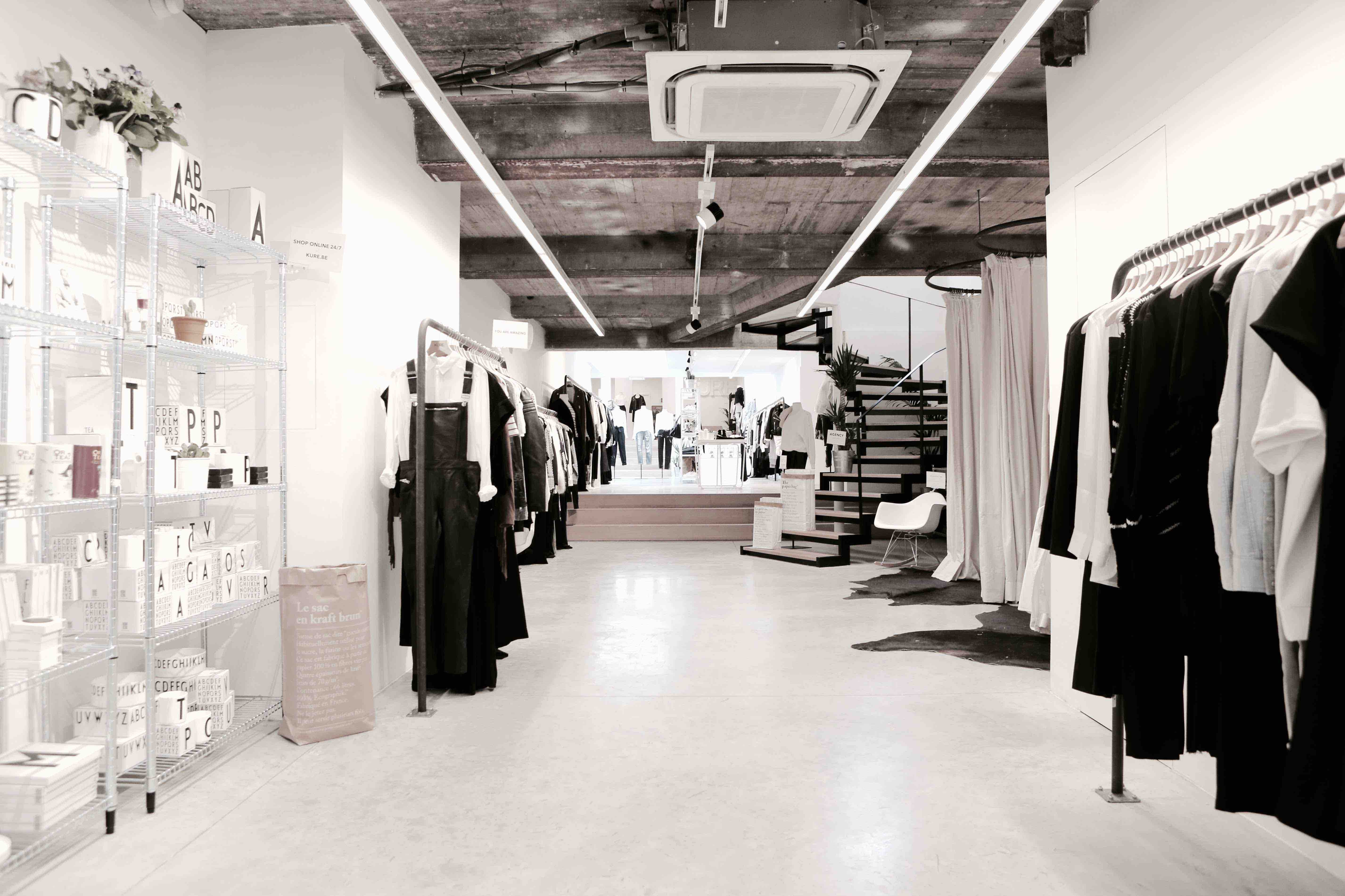 bf29362ddd95 KURE, one of Brussels' fashion sanctuaries | Courtesy of KURE
