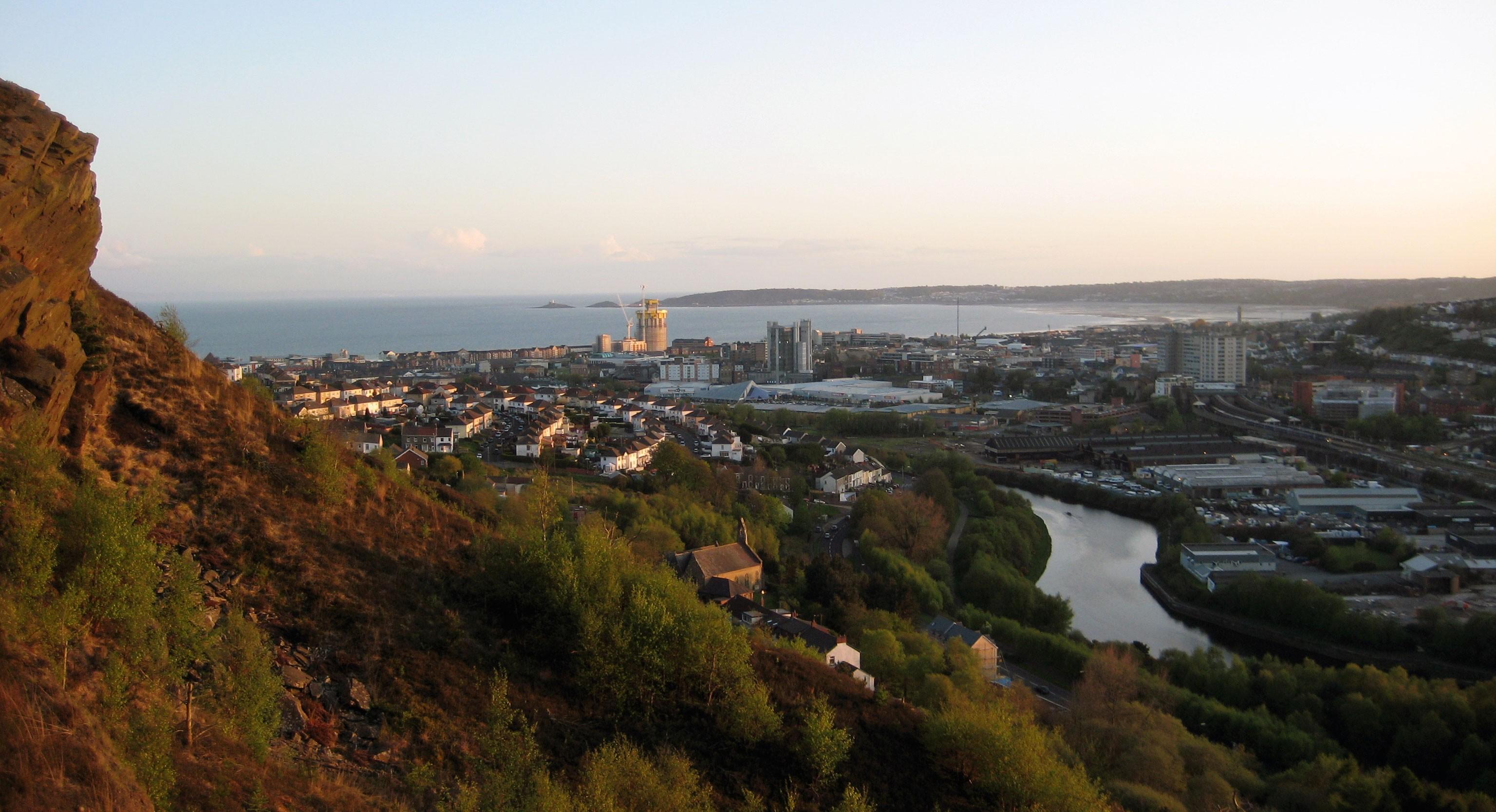 Swansea. Credit: Wiccasha/ Goodfreephotos