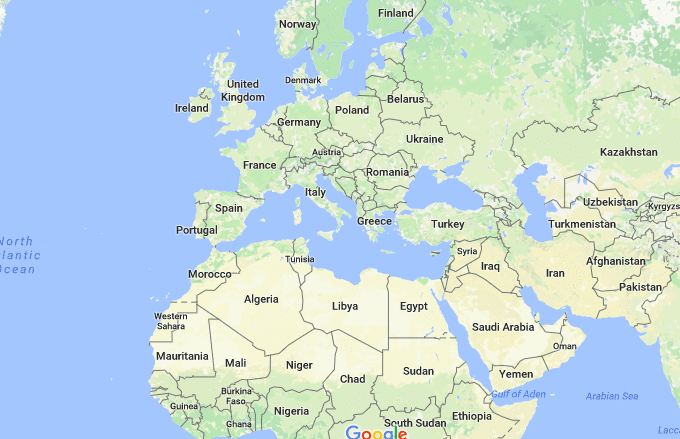 So People Have Started Reviewing Continents on Google Maps and It\'s ...