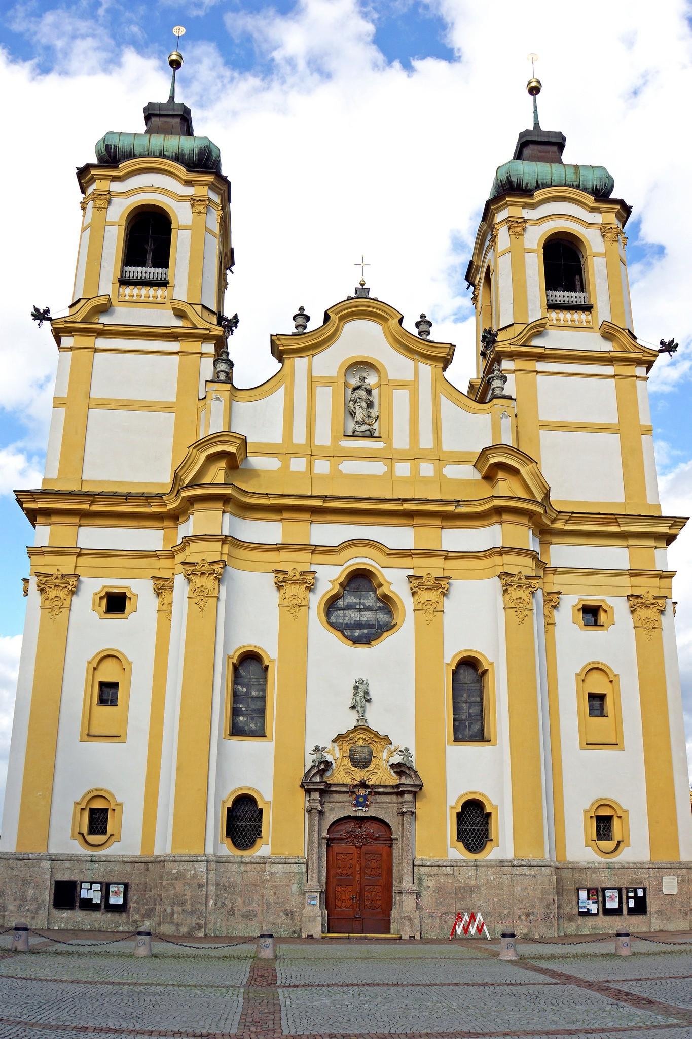 "<a href = ""https://www.flickr.com/photos/archer10/21835620470/in/photolist-zgxge1-5sNYHf-KNk81N-K1eDc8-KSSyoz-KQTAgc-KvsL1L-K1eD9x""> Austria-01450 - Wilten Basilica | © Dennis Jarvis/Flickr"